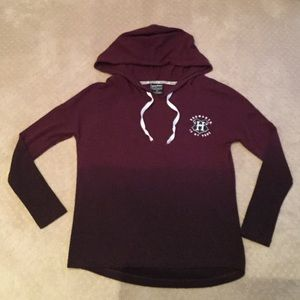 Harry Potter Graphic Long Sleeve Hooded Top